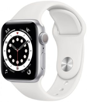 Apple Watch Series 6 GPS 44мм Aluminum Case with Sport Band